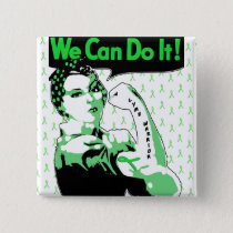 We Can Do It, Lyme Disease Warrior Button