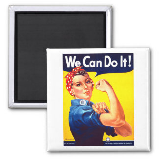 We Can Do It! Magnet