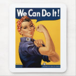 We Can Do It Mouse Pad