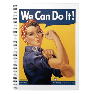 We Can Do it! Note Book