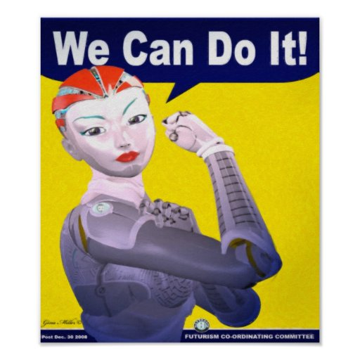 We Can Do it! Print