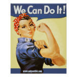 """""""We Can Do It!"""" Posters"""