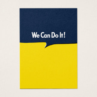 We Can Do it Rosie Business Card