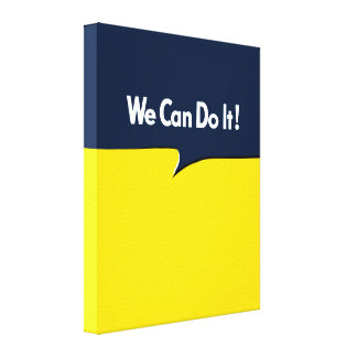 We Can Do it Rosie Canvas Print