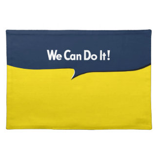 We Can Do it Rosie Cloth Place Mat