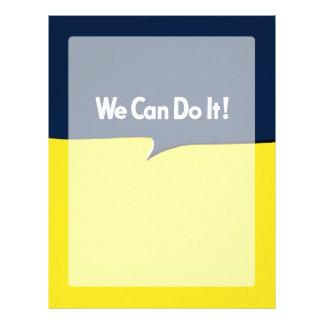We Can Do it Rosie Headline Letterhead