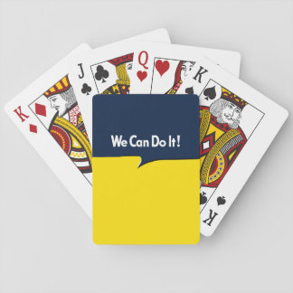 We Can Do it Rosie Headline Playing Cards