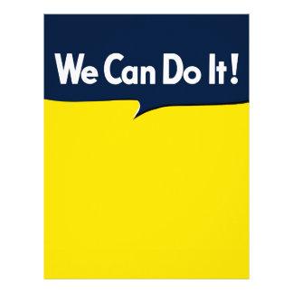 We Can Do it Rosie Letterhead