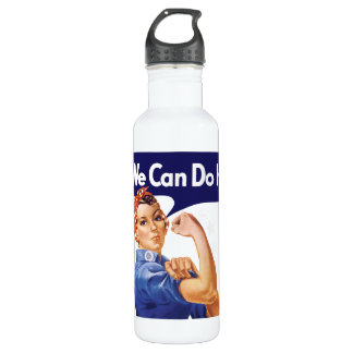 We Can Do It! Rosie the Riveter 24oz Water Bottle