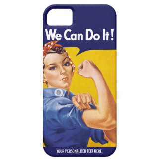 We Can Do It! Rosie the Riveter Custom Case iPhone 5 Cover