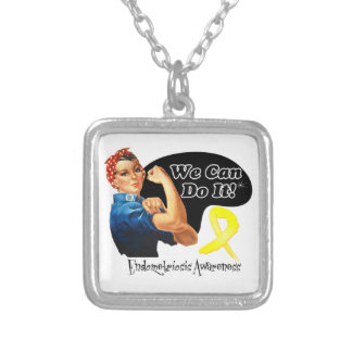 We Can Do It Rosie The Riveter Endometriosis Necklace