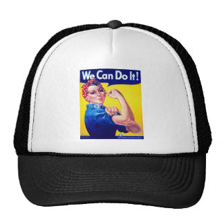 We Can Do It Rosie the Riveter Trucker Hat