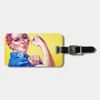 We Can Do It Rosie the Riveter Luggage Tag