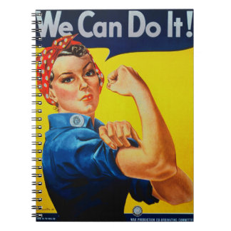 We Can Do It Rosie the Riveter Note Book