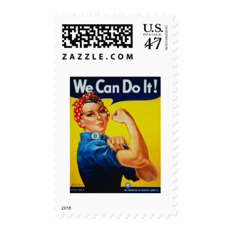 We Can Do It Rosie the Riveter Postage