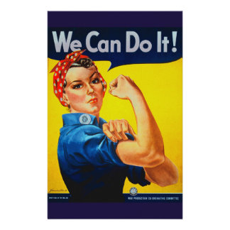 We Can Do It Rosie the Riveter Stationery