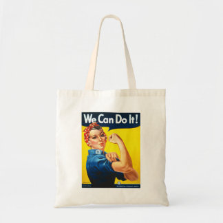 We can do it Rosie the Riveter Tote Bag