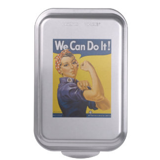 We Can Do It! #Rosie the Riveter Vintage Cake Pan