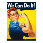 We Can do It! Rosie the Riveter Vintage Postcard