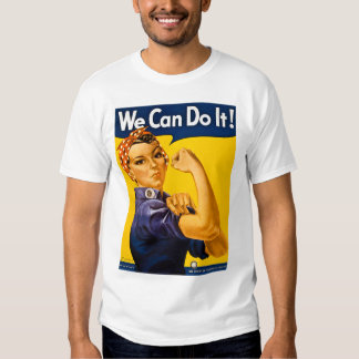We Can Do It! Rosie the Riveter Vintage WW2 Shirt
