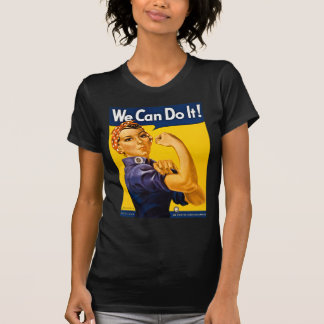 We Can Do It! Rosie the Riveter Vintage WW2 T-Shirt