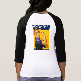 We Can Do It! Rosie the Riveter Vintage WW2 T-shirts