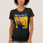 We Can Do It! Rosie the Riveter Vintage WW2 Tee Shirt