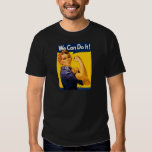 We Can Do It! Rosie the Riveter Vintage WW2 Tshirts