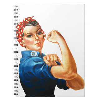 We Can Do It Rosie the Riveter Women Power Notebook