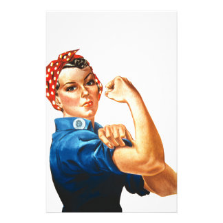 We Can Do It Rosie the Riveter Women Power Stationery