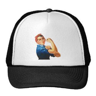 We Can Do It Rosie the Riveter Women Power Trucker Hat