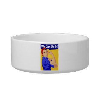 We Can Do It! Rosie The Riveter WWII Poster Bowl