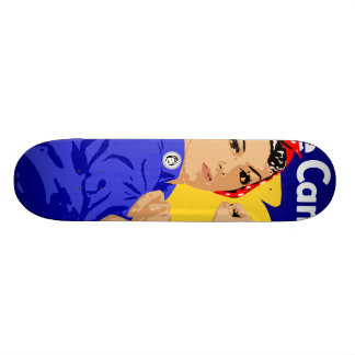 We Can Do It! Rosie The Riveter WWII Poster Custom Skateboard