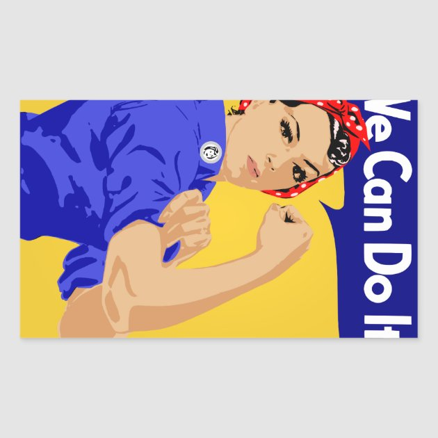 4 sizes, matte+glossy avail US WWII Propaganda Poster Rosie the Riveter