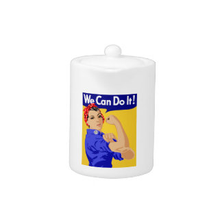 We Can Do It Rosie The Riveter WWII Poster