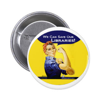 We can do it round badge pinback button