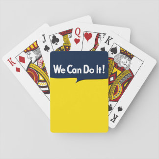 We Can Do it says Rosie Playing Cards