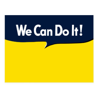 We Can Do it says Rosie Postcard