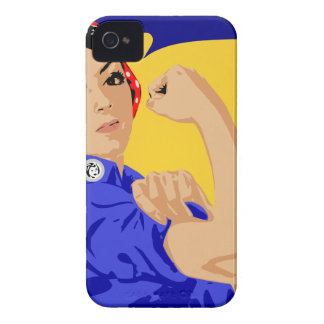 We Can Do It Sketch Case-Mate iPhone 4 Case