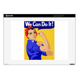 We Can Do It Sketch Skin For Laptop