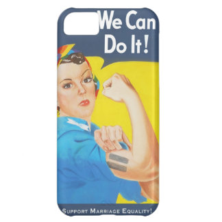 We Can Do It! - Support Marriage Equality Cover For iPhone 5C