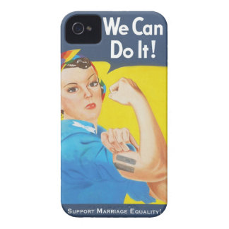 We Can Do It! - Support Marriage Equality iPhone 4 Case