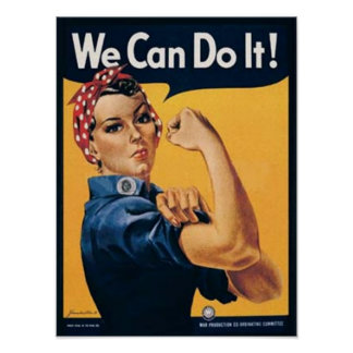 We Can Do It Vintage Ad Posters
