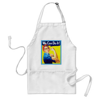 We Can Do It! ~ Vintage Adult Apron