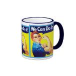 We Can Do It! ~ Vintage Mug