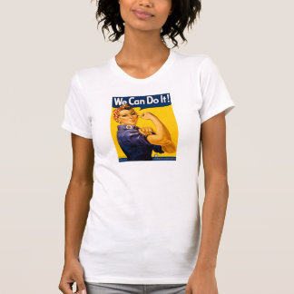 We Can Do It! Vintage Rosie the Riveter T Shirt