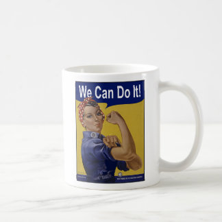 We Can Do It! Women's History Coffee Mugs