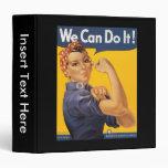 We Can Do It World War 2 3 Ring Binder