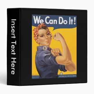 We Can Do It World War 2 Binder