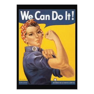 We Can Do It World War 2 Card